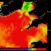 AVHRR sea surface temperature 2014-07-01 – 2014-07-07