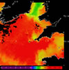 AVHRR sea surface temperature 2014-06-17 – 2014-06-23