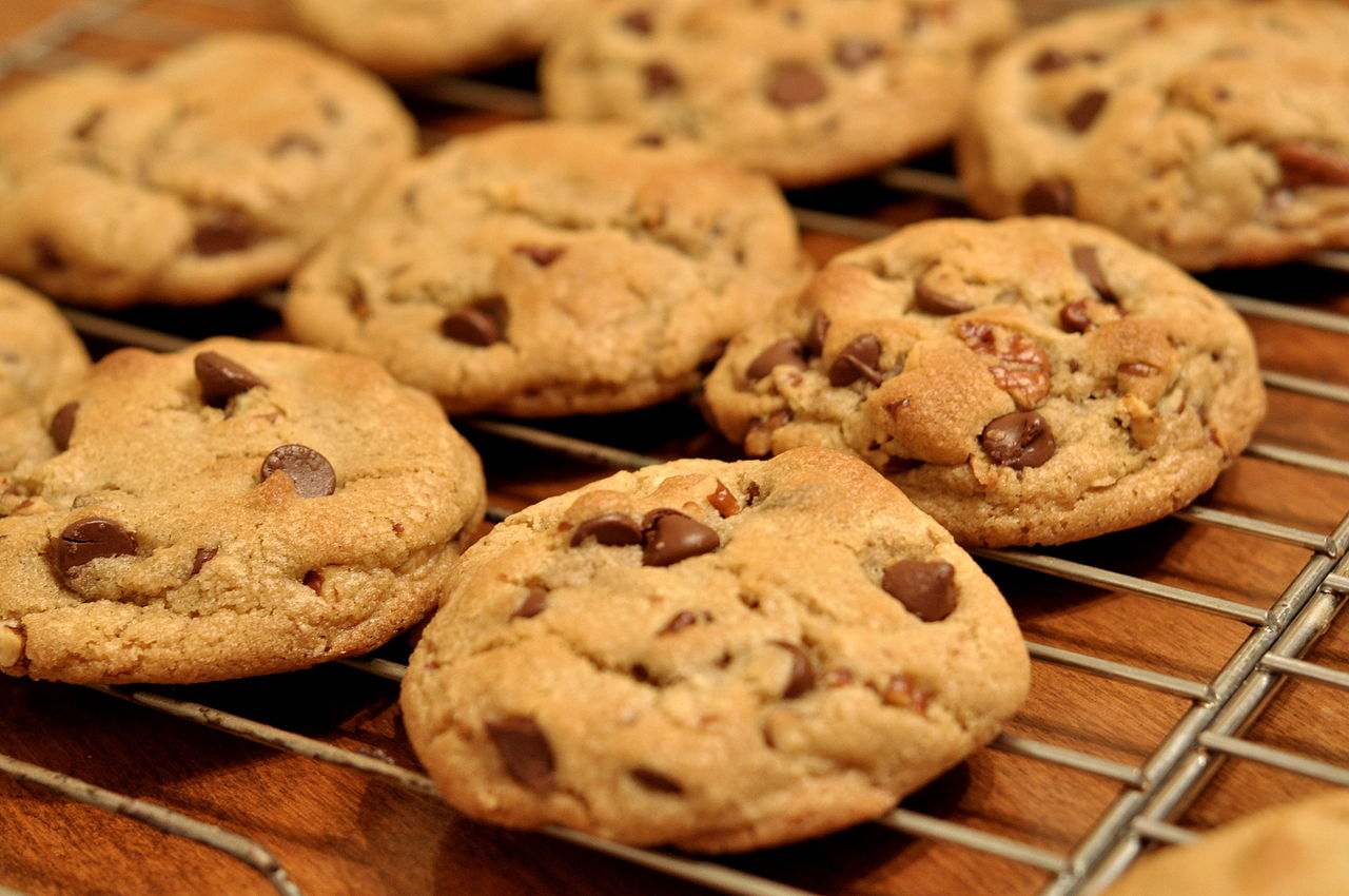 Perfect chocolate chip cookies - © Kimberly Vardeman from Lubbock, TX, USA - Creative Commons Attribution 2.0 Generic